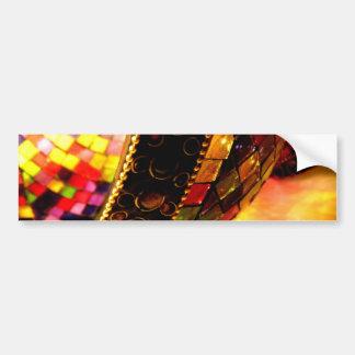 Vidrio encendido pegatina de parachoque