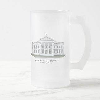 Vidrio escarchado de la bebida de la Casa Blanca Taza Cristal Mate