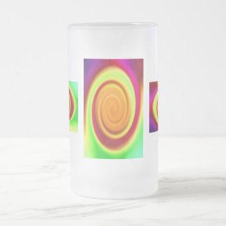 Vidrio esmerilado - modelo del extracto del remoli taza