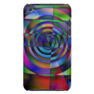 Vidrio fracturado iPod Case-Mate fundas