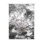 vidrio helado impresión de lienzo