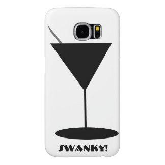 Vidrio ostentoso de Martini Fundas Samsung Galaxy S6