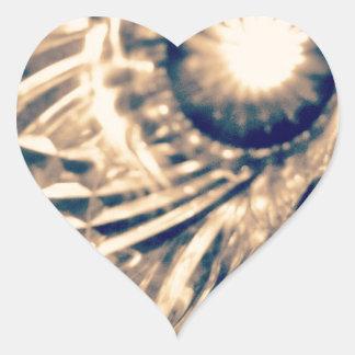 Vidrio Pegatina Corazón