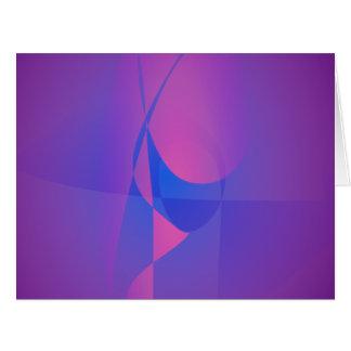 Vidrio púrpura tarjetas
