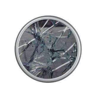 Vidrio quebrado altavoz con bluetooth
