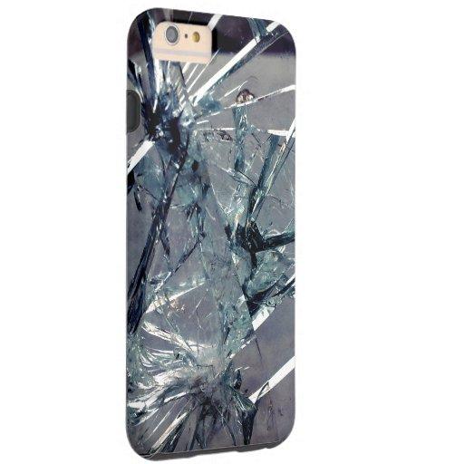Vidrio quebrado funda de iPhone 6 plus tough