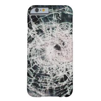 Vidrio quebrado funda de iPhone 6 barely there