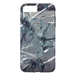 Vidrio quebrado funda iPhone 7 plus