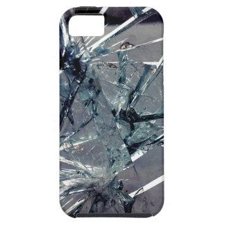 Vidrio quebrado funda para iPhone 5 tough