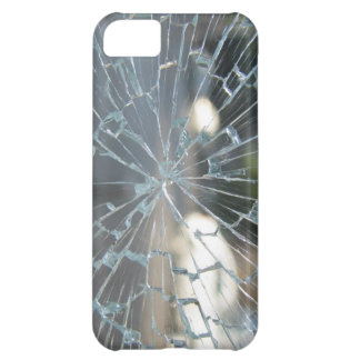 Vidrio quebrado funda para iPhone 5C