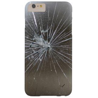 Vidrio quebrado funda para iPhone 6 plus barely there