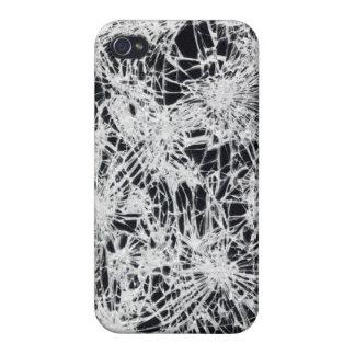 Vidrio quebrado iPhone 4/4S fundas