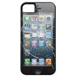 Vidrio quebrado iPhone 5 Case-Mate coberturas