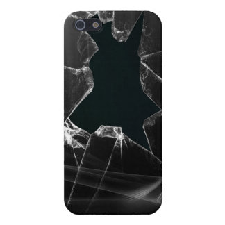 Vidrio quebrado iPhone 5 funda