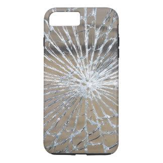 Vidrio roto funda iPhone 7 plus