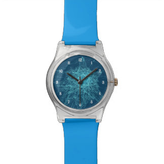 Vidrio roto relojes de pulsera