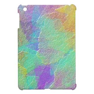 Vidrio texturizado simulado colorido del arte