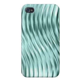 Vidrio verde Pern del hielo iPhone 4 Carcasa