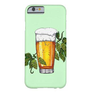 Vidrio y saltos de cerveza funda de iPhone 6 barely there