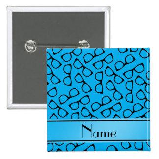 Vidrios conocidos personalizados del negro azul de chapa cuadrada 5 cm