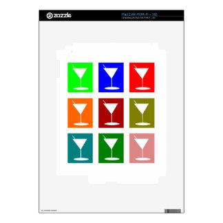 vidrios de cóctel calcomanía para el iPad 2