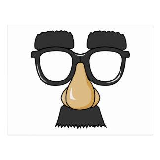 Vidrios de Groucho (a.k.a. el Beaglepuss) Postales