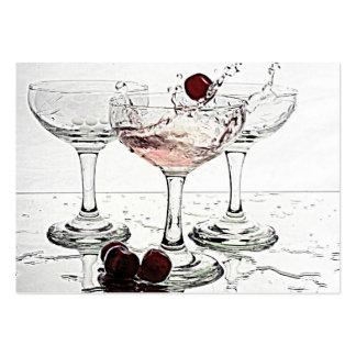 Vidrios de la bebida