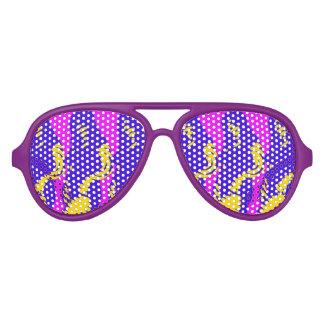 Vidrios de la chica marchosa lentes de sol