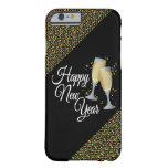 Vidrios de la Feliz Año Nuevo I Champán Funda De iPhone 6 Barely There
