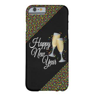 Vidrios de la Feliz Año Nuevo I Champán Funda Barely There iPhone 6