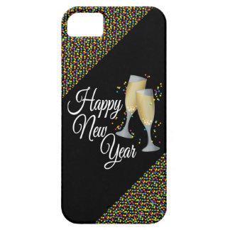 Vidrios de la Feliz Año Nuevo I Champán Funda Para iPhone SE/5/5s