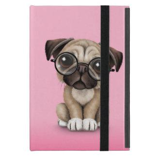Vidrios de lectura lindos del perro de perrito del iPad mini cobertura