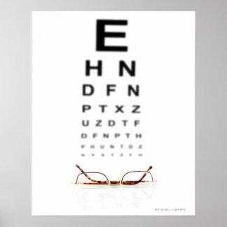 Vidrios de lectura poster