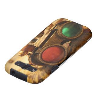 Vidrios de Steampunk Galaxy SIII Protectores
