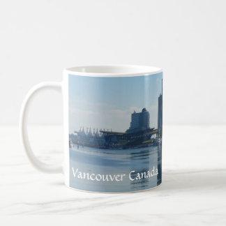 Vidrios de Vancouver de las tazas de café de