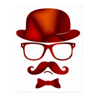 Vidrios del bigote del 1b derby del inconformista postales
