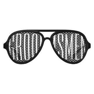 Vidrios del fiesta del Swag de los padrinos de Gafas De Sol