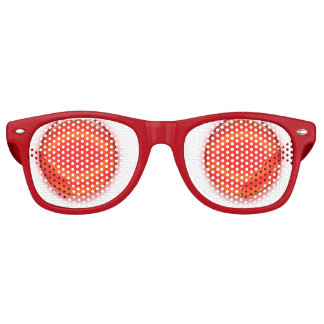 Vidrios del fiesta - orbes rojos gafas de fiesta