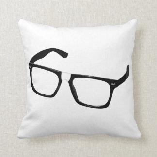 Vidrios del friki almohada