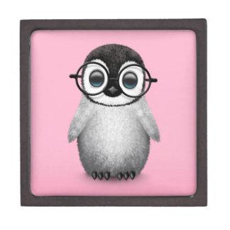 Vidrios del ojo del pingüino lindo del bebé que ll cajas de regalo de calidad