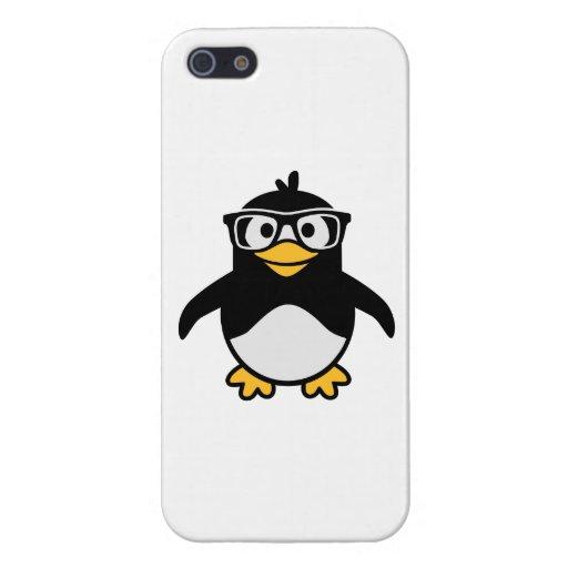 Vidrios del pingüino iPhone 5 protector
