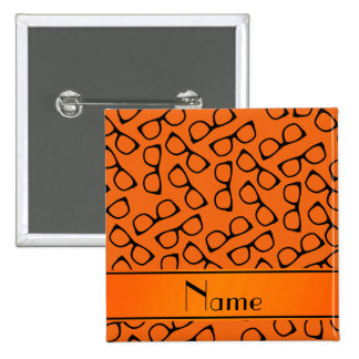Vidrios negros anaranjados conocidos chapa cuadrada 5 cm
