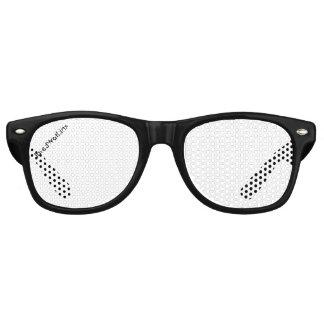 Vidrios negros del logotipo de JaredWatkins Lentes De Sol