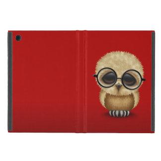 Vidrios que llevan de Brown del búho lindo del iPad Mini Protector