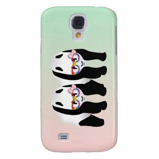Vidrios que llevan del arco iris lesbiano lindo de funda para galaxy s4