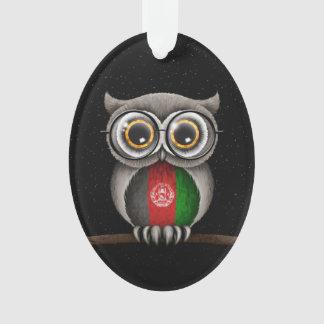 Vidrios que llevan del búho afgano lindo de la ban