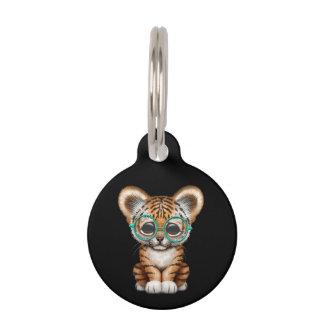 Vidrios que llevan lindos de Cub de tigre de bebé Identificador Para Mascotas