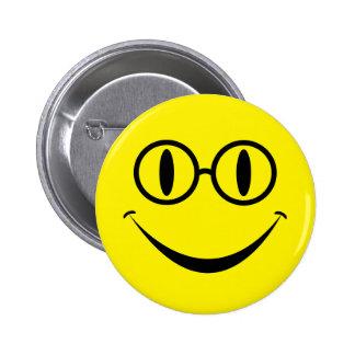 Vidrios sonrientes pin