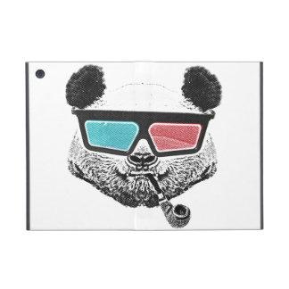Vidrios tridimensionales de la panda del vintage iPad mini carcasa