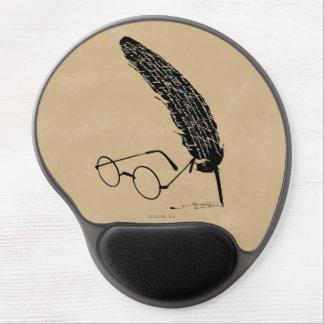 Vidrios y canilla del ™ de HARRY POTTER Alfombrilla Con Gel